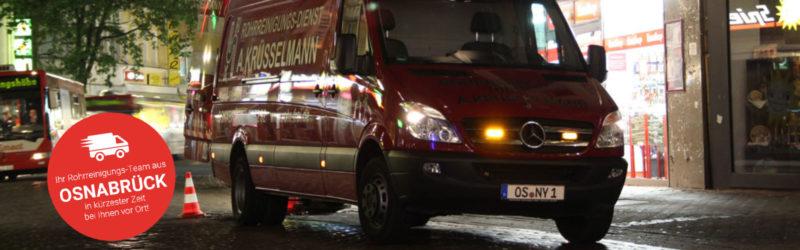 Relaunch des Internetauftritts von Rohrreinigungsdienste Krüsselmann: Immer vor Ort, wenn's drauf ankommt