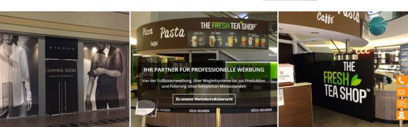 Relaunch des Internetauftritts von DK-Werbetechnik: Ein Aushängeschild (diesmal in eigener Sache)