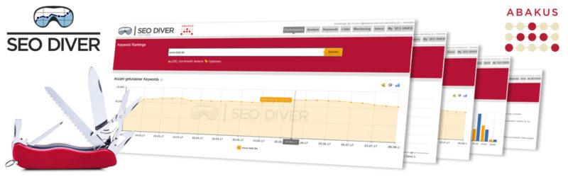 SEO Diver: Das Schweizer Taschenmesser unter den kostenlosen SEO-Tools